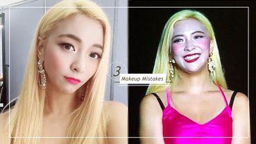 韓星Luna舞台照底妝死白,自拍照卻美翻?彩妝師解密,這3大底妝誤區絕不能碰!