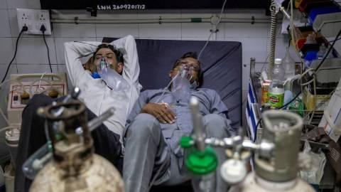 India Darurat Corona, Inggris Bakal Kirim Bantuan 1.000 Ventilator