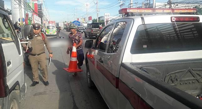 อุบัติเหตุมีผู้เสียชีวิต ถนนลำลูกกา ช่วงคลอง 4