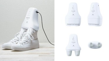球鞋臭氣熏天受不了?Panasonic 推出全新球鞋除臭機「Nanoe X」