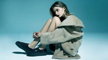 超模ABBEY LEE 性感與性格呈現,一同沈迷於Superga的時尚魅力