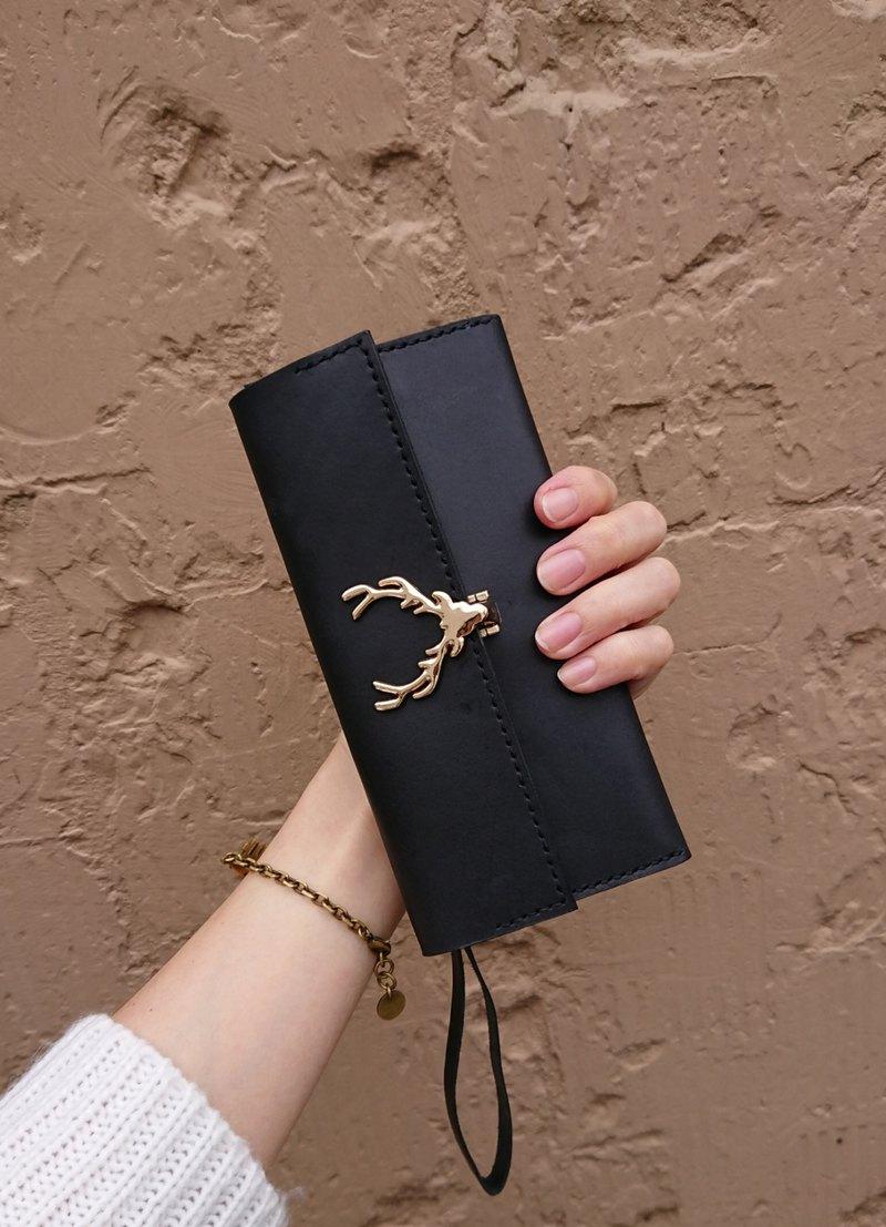 能輕鬆在3小時內完成的實用隨身皮件,可收納紙鈔、手機等小物,掛在手上很方便?