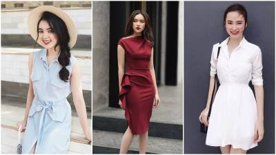 4 kiểu váy giúp chị em công sở đẹp thanh lịch và sang, không bao giờ lỗi mùa