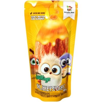 韓國原裝進口 杏仁堅果口感脆香又營養 杏仁包覆著蜂蜜奶油風味 香濃口感讓人一顆接一顆