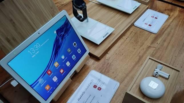 Huawei Luncurkan Tablet Mediapad T5 Freebuds 3 Dan Jam Tangan Cerdas Gt2