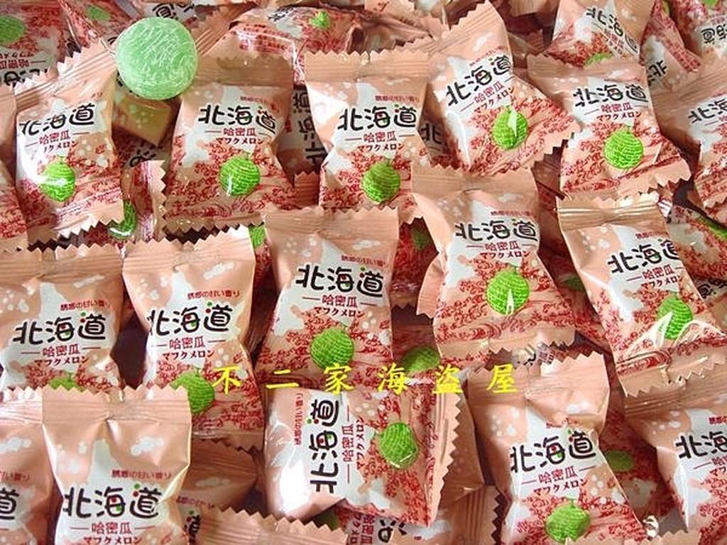 【糖花派對】台灣-北海道哈密瓜糖--200g59元--清甜濃醇