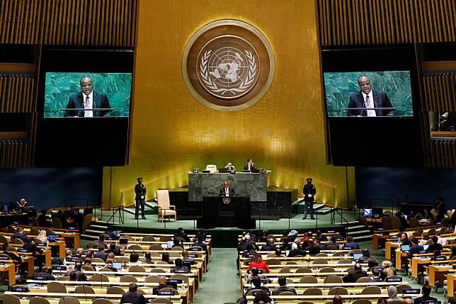 ▲聯合國大會。(圖/美聯社/達志影像)