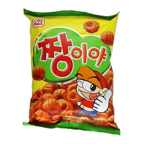 #韓國零食 #韓國餅乾 #下午茶 #點心 西班牙著名點心變身酥脆餅乾 【商品名稱】韓國 Cosmos 吉拿棒點心 【容 量】105g 【成 份】依商品標示。 【有效期限】總保存期限9個月 【產 地】韓