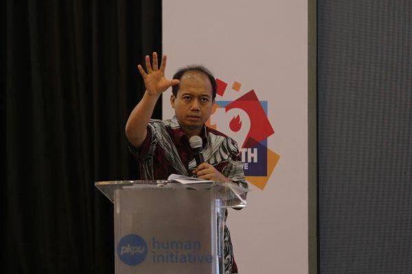 Kepala Pusat Data, Informasi, dan Hubungan Masyarakat Badan Nasional Penanggulangan Bencana (BNPB) Sutopo Purwo Nugroho.