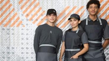 服裝設計師重新打造麥當勞制服 潮味十足員工捨不得脫下!