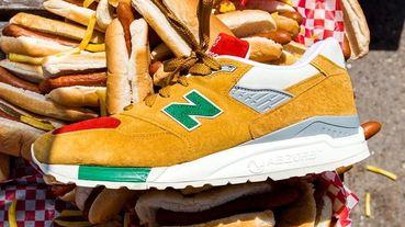 新聞分享 / 吃熱狗、薯條穿它正好 J.Crew x New Balance 998 'Mustard Ketchup Relish'