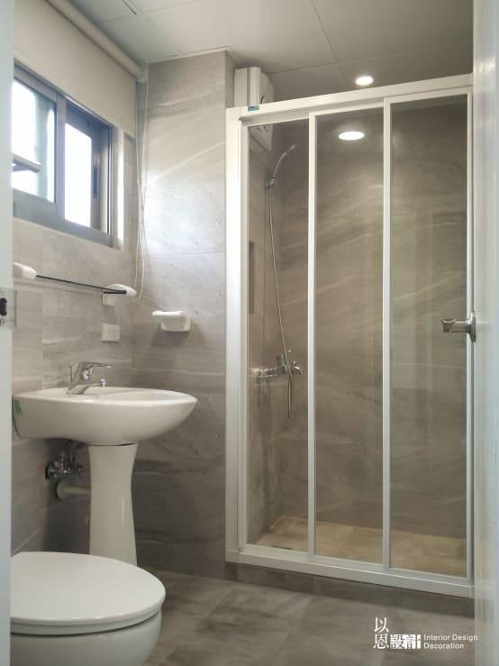 嶄新的衛浴設備
