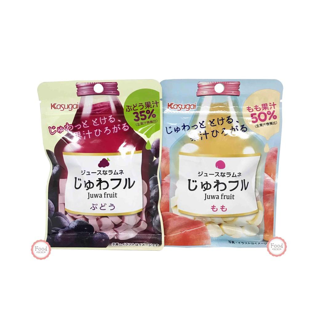 日本 春日井 KASUGAI 汽水糖 葡萄/白桃 25公克 日本進口 糖果 零食