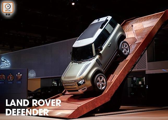 全新一代Land Rover Defender,採用新世代 D7x 底盤架構打造。(互聯網)
