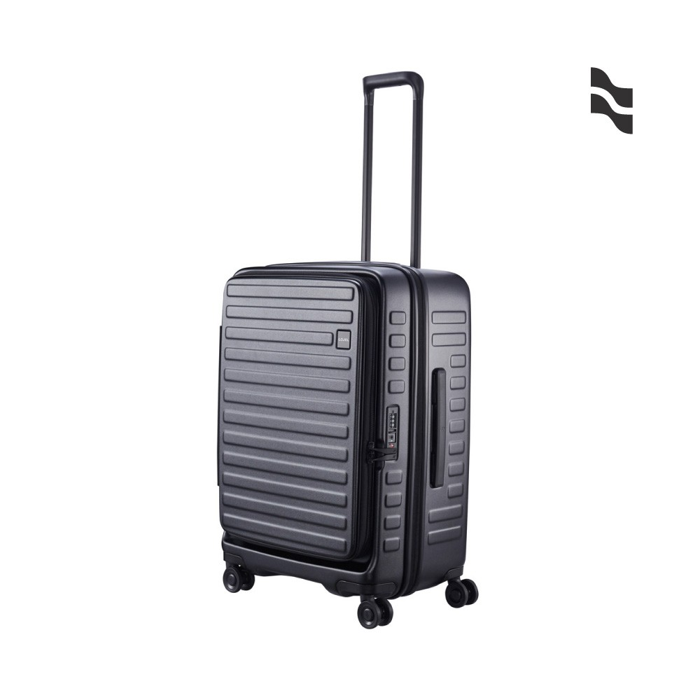 LOJEL CUBO 26吋行李箱 酷黑色【五福居家生活館】上掀蓋擴充行李箱型號:C-F162721吋規格: W36 * H54 * D26(29)cm售價: 8280元 重量: 3.2kg容量: 3