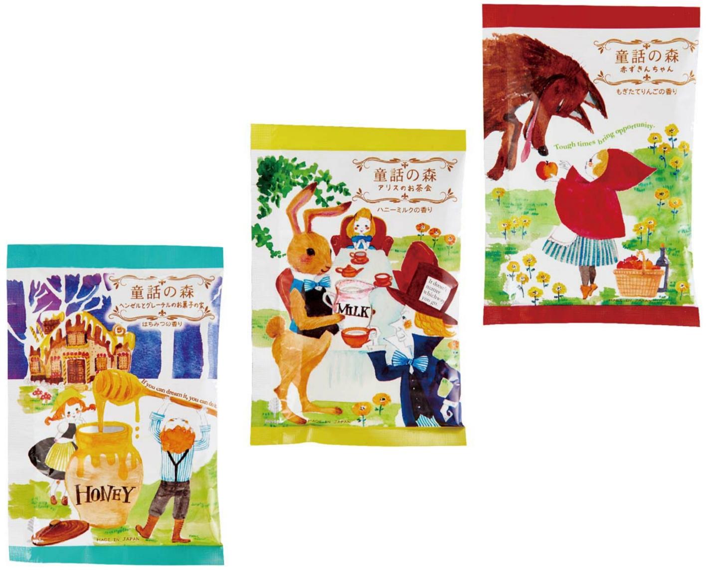 日藥本舖日本紀陽除蟲菊 手繪童話風入浴劑