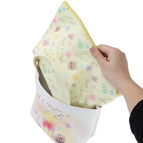真愛日本 維尼 小豬 迪士尼 兩用 可拆 保冷 便當提袋 保溫袋 手提袋 保冷袋 保冷提袋 餐袋 便當袋