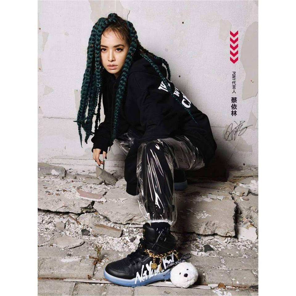 【PONY x JOLIN 合作款】美式街頭塗鴉復古籃球鞋(黑) - 男女款