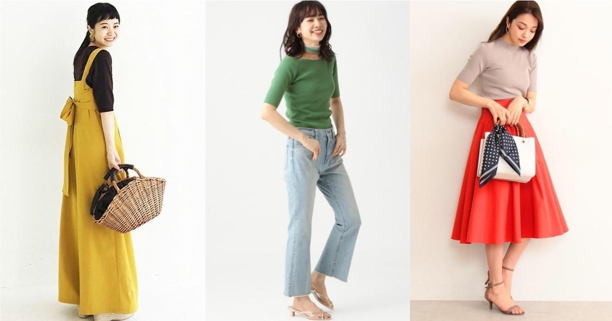 夏日也好穿的針織上衣這樣選!輕薄季節款先看日本女生這樣穿出溫柔印象