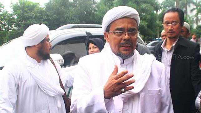 Habib Rizieq Syihab. (suara.com/Oke Atmaja)