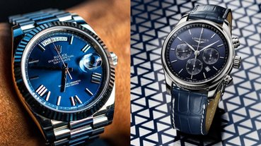 用看的我就爽了!推薦 5 大自帶涼感的「藍色錶款」給你,降溫又涼快再也不怕熱到爆氣!