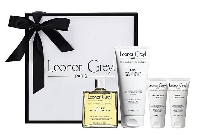 Huile de Leonor Greyl Hair Care Set王牌精華護髮套裝:由洗髮露、焗油到護髮油,多重修護還你順滑的秀髮。(互聯網)