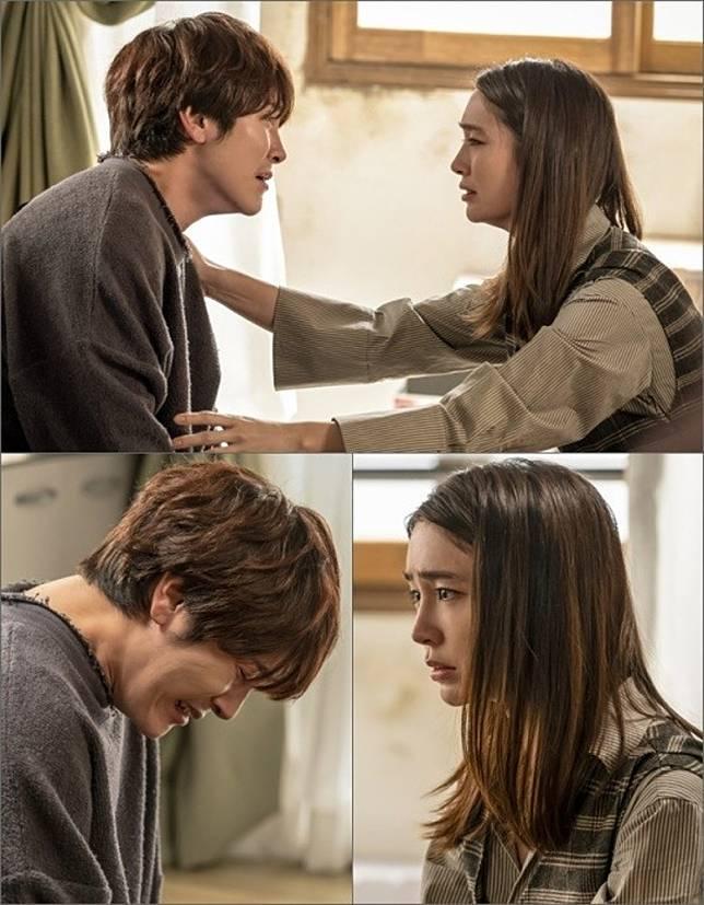 允鶴(左)前年亦有參演李敏貞孭飛韓劇《命運與憤怒》。