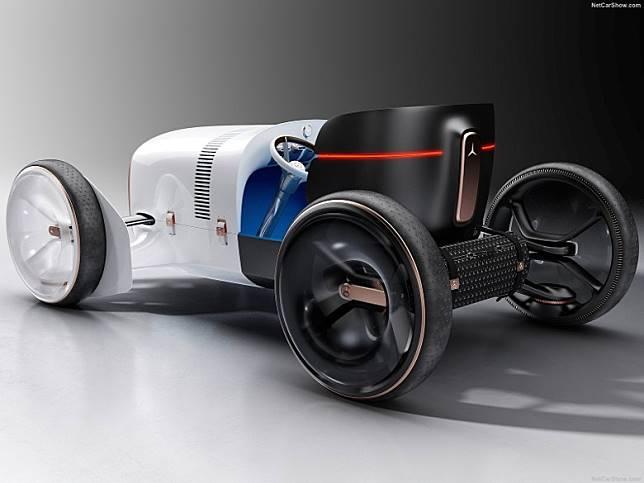 Mercedes-Benz Vision Simplex Concept,設計靈感源自1901年Mercedes 35PS經典車。(互聯網)