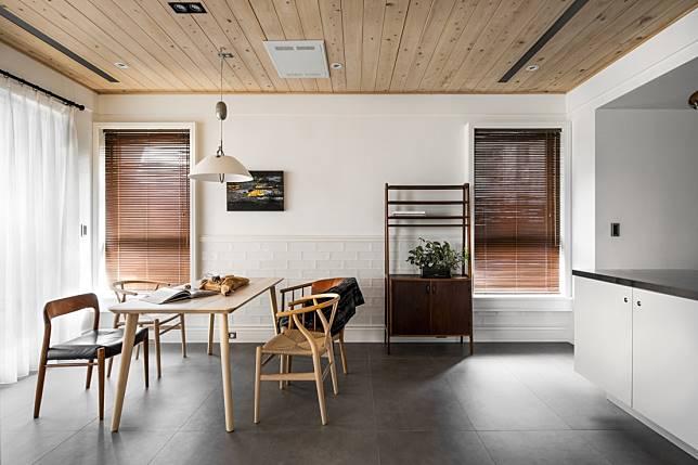 1. 清爽自然的木質系空間