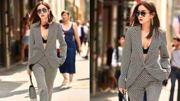 謝金燕參加紐約時裝週只穿黑Bra「辣到老外都看呆!」整套MICHAEL KORS褲裝氣壓全場