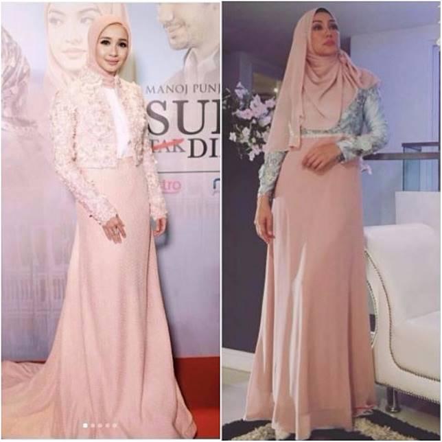 Inilah Bukti Perbedaan Gaya Hijab Laudya Chintya Bella Dengan Mantan