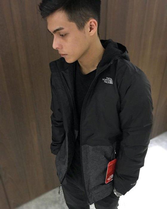 美國百分百【The North Face】連帽外套 TNF 北臉 夾克 保暖 防水 透氣 拼色黑灰 青年版 I711。流行男裝與男鞋人氣店家美國百分百的首頁有最棒的商品。快到日本NO.1的Rakute