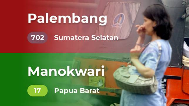 Kualitas udara terbaik dan terburuk di Indonesia (Rabu, 23/10/2019)