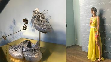 起點現場 / 紅毯之王 JIMMY CHOO 2019 SS 連老爹鞋都超級閃耀