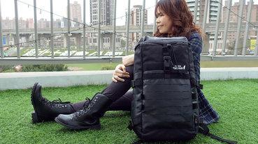 開箱-bagrun都會玩家瞬開翻蓋後背包,通勤後背包推薦,旅行輕便背包,一秒瞬開磁扣的輕量防水後背包,輕旅行多功能收納後背包
