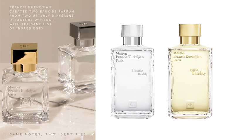 Maison Francis Kurkdjian自由之我gentle Fluidity (金)200ml/NT11,600,自由之我銀Gentle fluidity (銀)200ml/NT11,600(圖/提供)