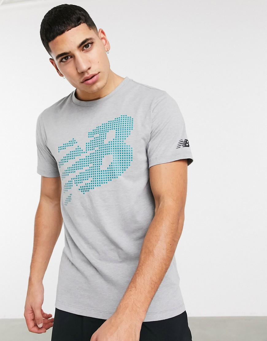 T-shirt by New Balance Fresh gear, fresh motivation Crew neck Short sleeves Logo print to chest and