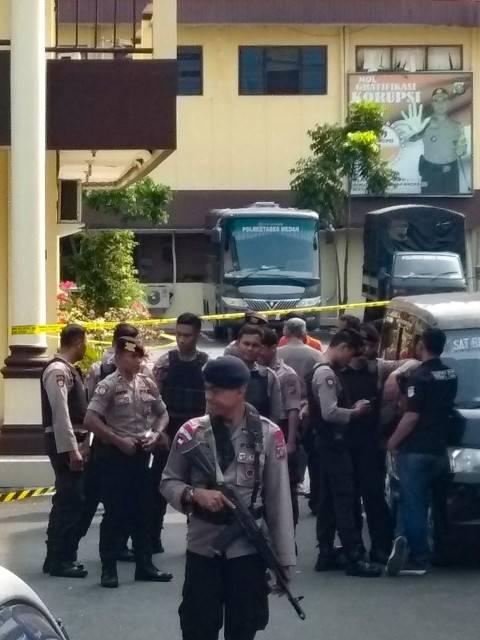 Fakta-fakta Bom Bunuh Diri di Polrestabes Medan