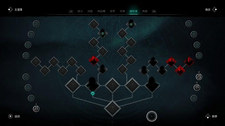 要開啟上古維序者的任務,必須先在部落中建立無形者據點。