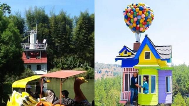 Tempat rekreasi di Bandung (instagram)
