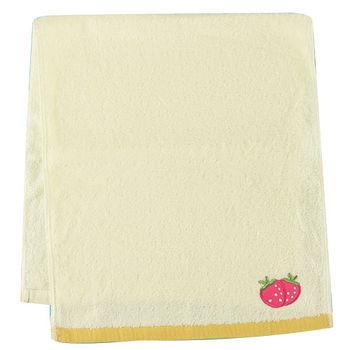 水果剪絨毛巾