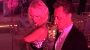 男友今天不在!泰勒絲與「洛基」湯姆希德斯頓派對上熱舞!