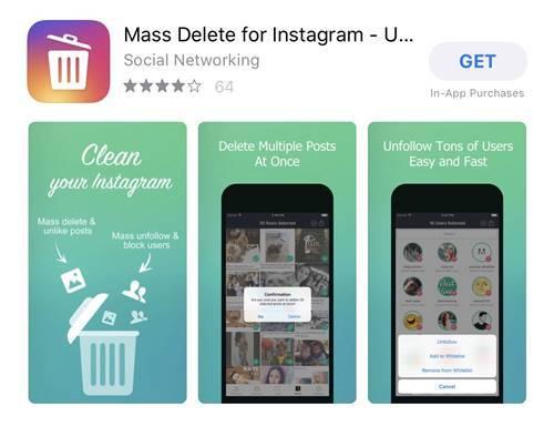ชี้พิกัด! 4 App เด็ดลบรูปใน Instagram ทีละหลายๆ รูป
