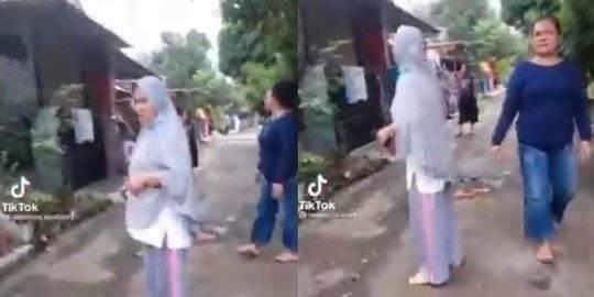 Viral Emak-Emak Ribut Sama Tetangga Gara-Gara Wifi. Instagram @berita_gosip/Tik Tok @manusia.kentanq