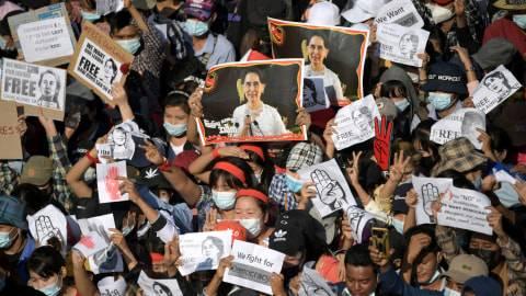 Myanmar Abaikan Konsensus KTT ASEAN, 7 Demonstran Tewas Ditembak
