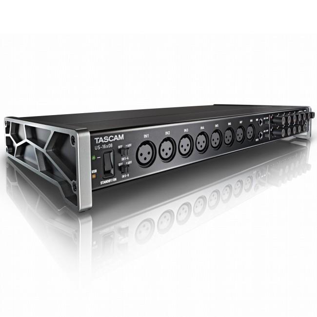 【正成公司貨】TASCAM US-16X08 USB錄音介面 16X08 達斯冠