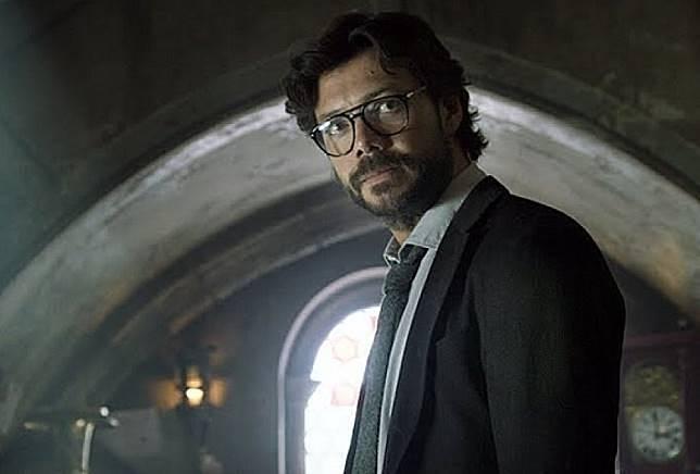 「教授」Álvaro Morte