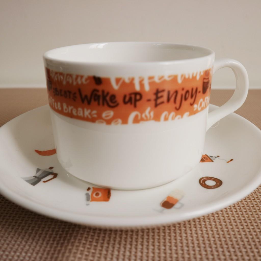 咖啡時光骨瓷杯碟組 下午茶 咖啡杯