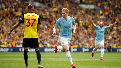 Juara Piala FA, Manchester City Raih Treble