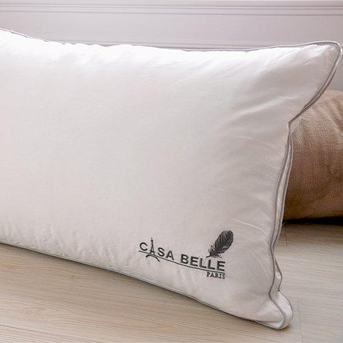 法國Casa Belle《頂級北歐 98/2 羽絨天絲枕》二入
